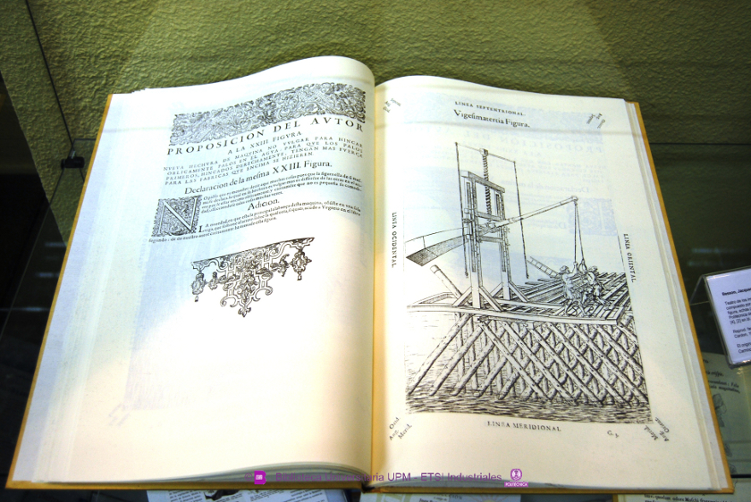 Benson, Jacques (1540 - 1573) [Ed. facs] Teatro de los instrumentos y figuras matemáticas y mecánicas...