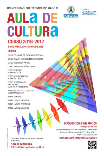 AULA DE CULTURA OCT. NOV. 2016