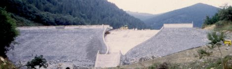 CRCS spillways over embankment dams in Spain. Molino de la Hoz and Llodio Dams
