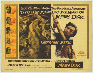 Moby Dick, con Gregory Peck