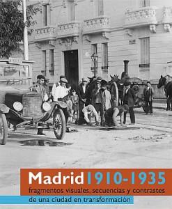 Cartel de la exposicion Madrid 1910-1935