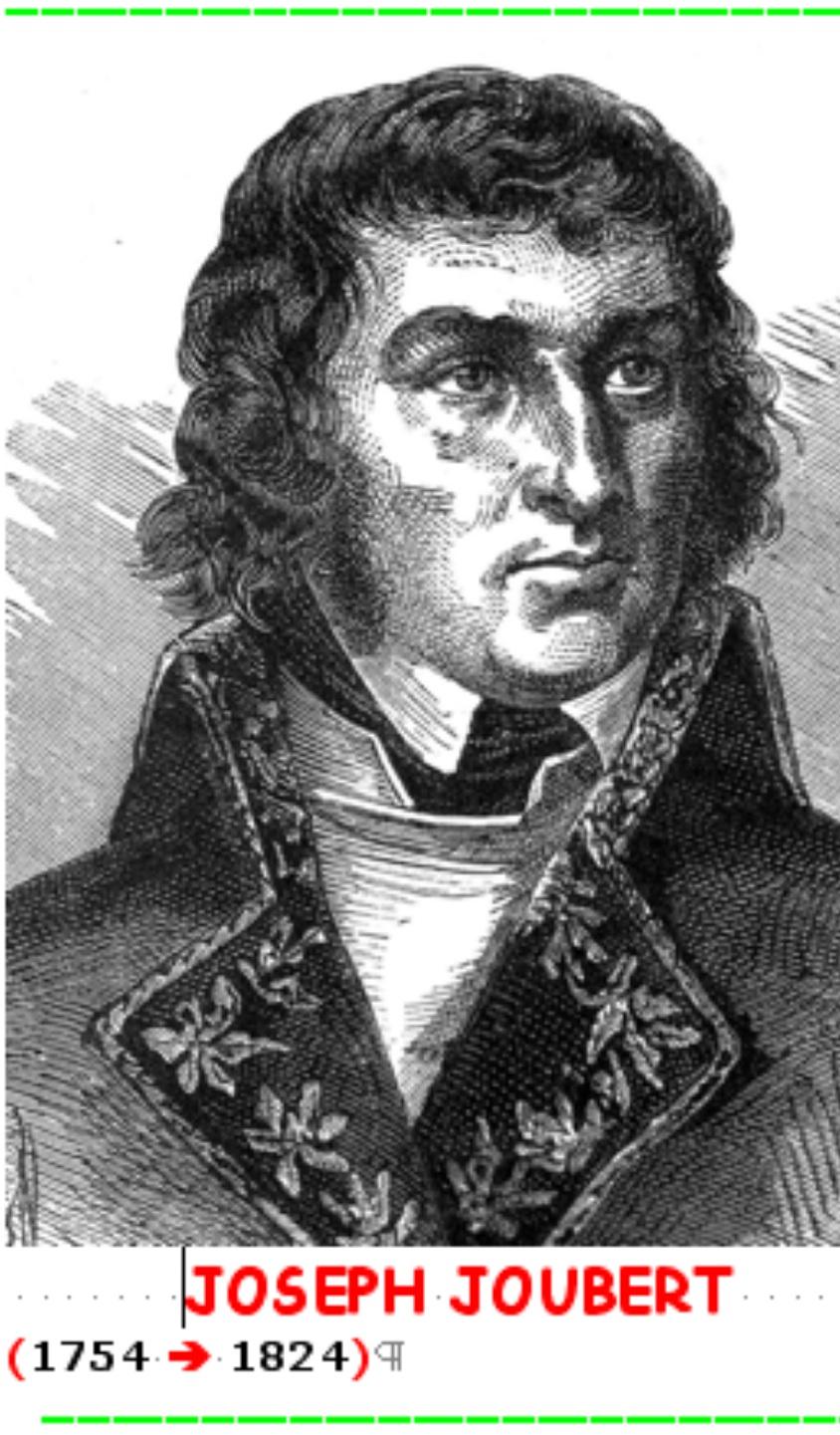 Retrato de Joubert