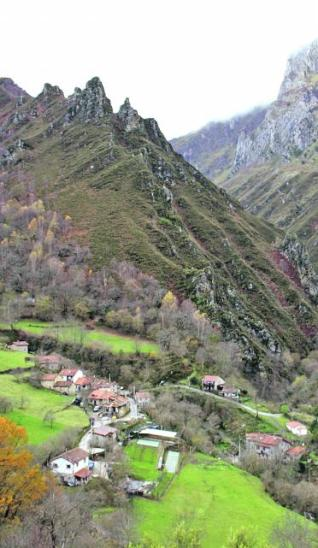 Paisaje agreste asturiano