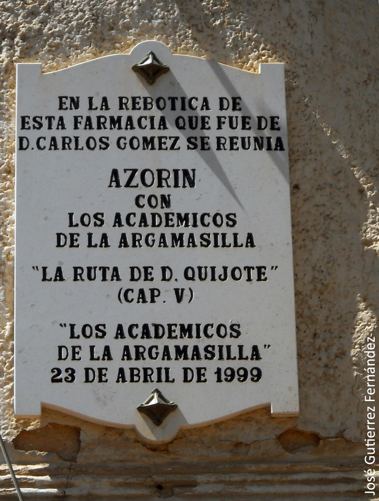 Argamasilla_Azorín Aranjuez