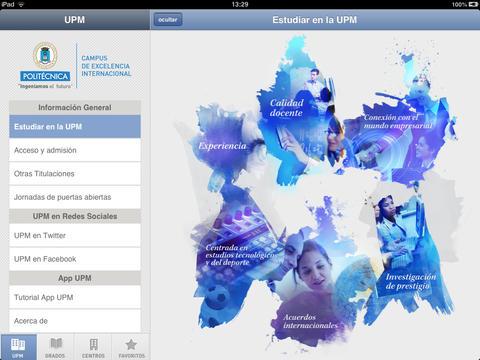 Las APPs de la UPM para móviles