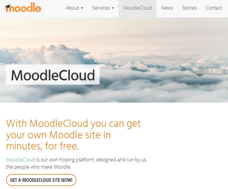 Moodle Cloud, hosting gratuito de Moodle