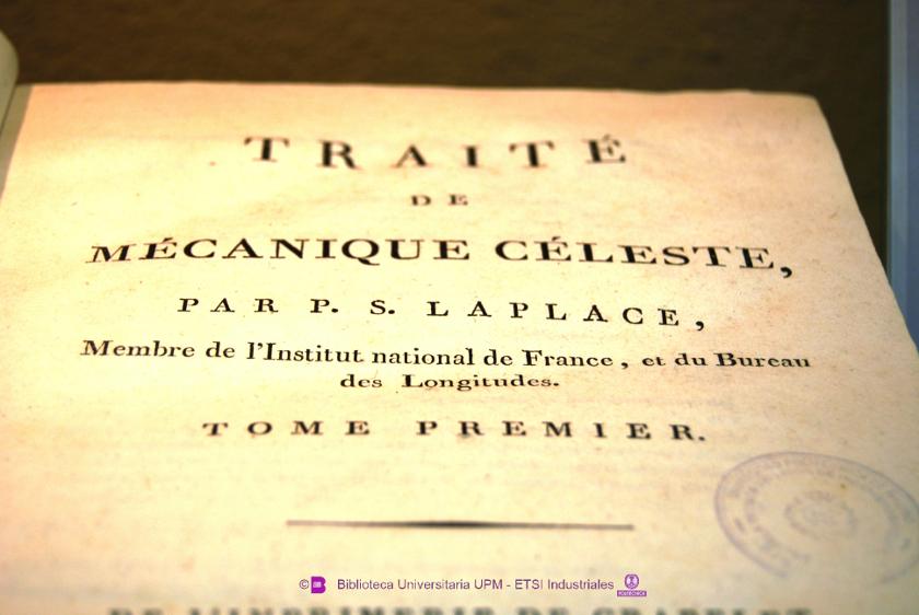 Laplace, Pierre-Simon, Marquis de (1749 - 1827) Traité de mécanique céleste.