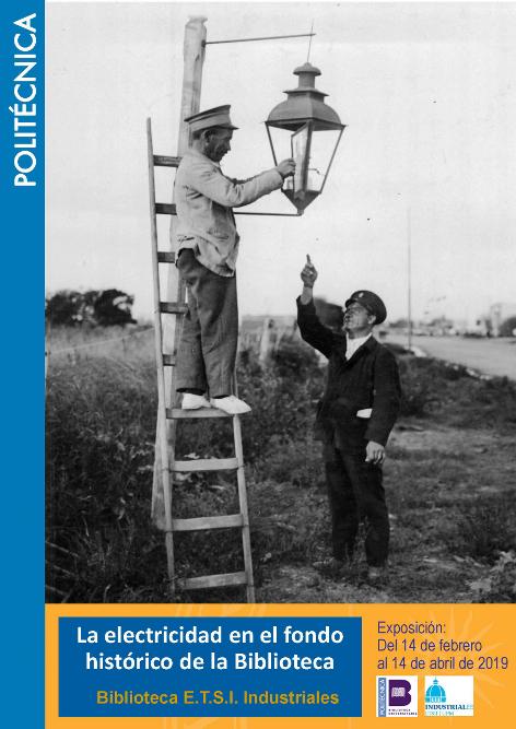 Exposición: la Electricidad en el fondo histórico de la Biblioteca