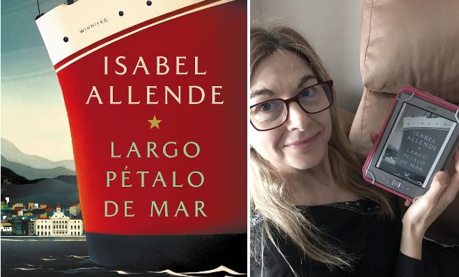 "Matilde:  ""Largo pétalo de mar"" de Isabel Allende"