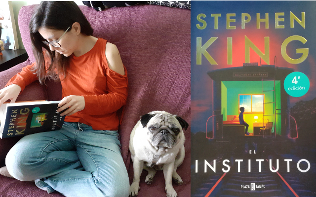 "Erika (y Groucho) leen "" El Instituto"" de Stephen King"