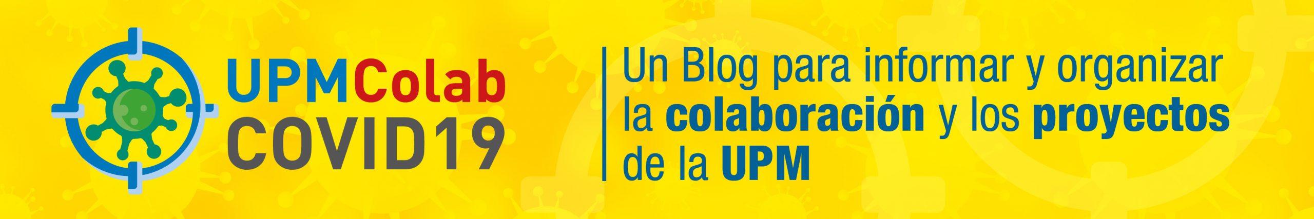 Logo Blog COVID19 - UPM