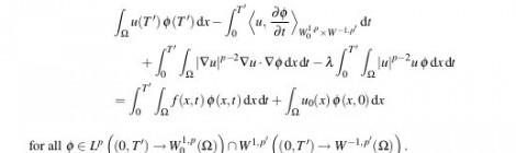 Tratamiento Matemático de Modelos en EDPs que aparecen en Medio Ambiente