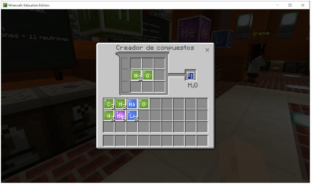 World of Chemestry creador moleculas