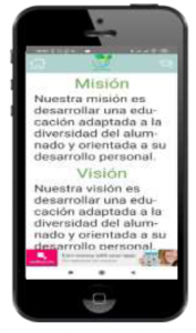 Mobincube movil con pantalla acceso aplicacion