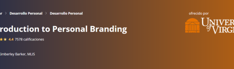 MOOC I: Introduction to Personal Branding