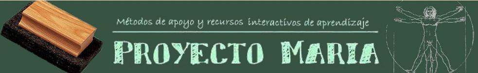 Cabecera web Proyecto María