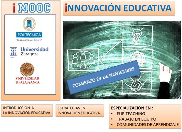 Acceso Mooc Innovación Educativa