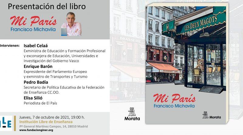 presentación del libro mi París