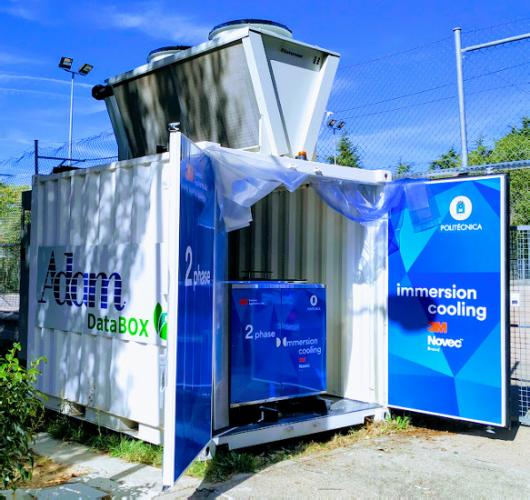 Prototype of an energy-efficient datacenter.