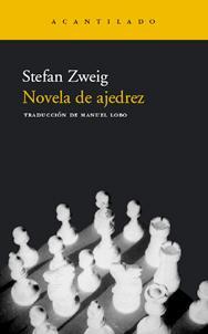 Cubierta de Novela de Ajedrez, Stefan Zweig