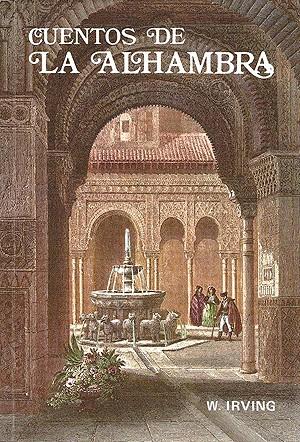 Cubierta de Cuentos de la Alhambra, Washington Irving