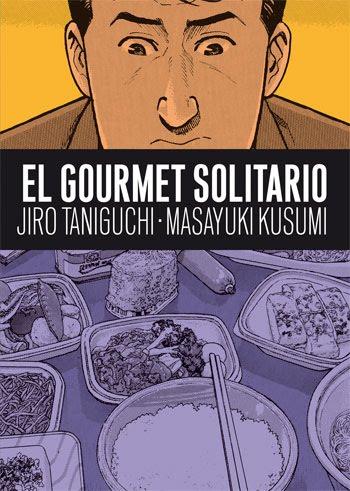 Cubierta de El gourmet solitario, Jiro Taniguchi y Masayuki Kusumi