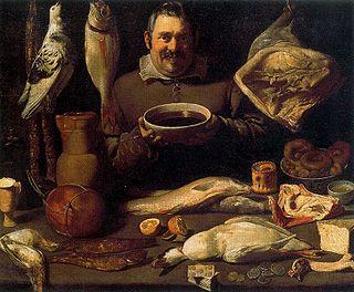 Pintura: Alejandro de Loarte. Cocina. Rijksmuseum