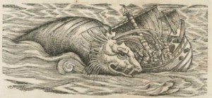 "Lámina de la ""Historia animalium"" de Konrad Gessner"