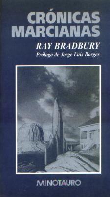 Cubierta de Crónicas marcianas, Ray Bradbury