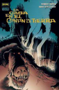 Cubierta del comic La casa en el confín de la tierra, de Richard Corben