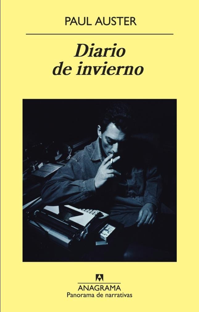 """Portada """"Diario de Invierno"""" Paul Auster"""