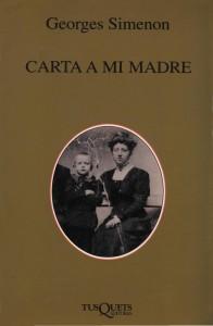 Carta a mi madre. Georges Simenon
