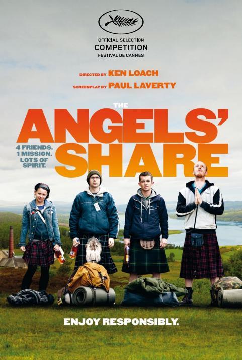 Cartel La parte de los ángeles, Ken Loach