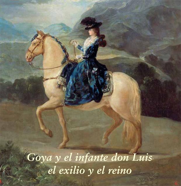 Goya. Retrato de María Teresa de Vallabriga.