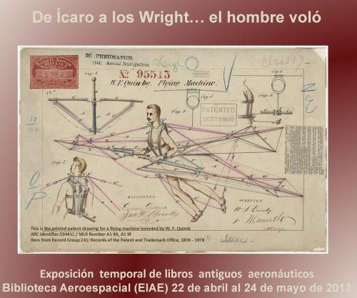 Día del libro - Cartel Biblioteca Aeronáutica