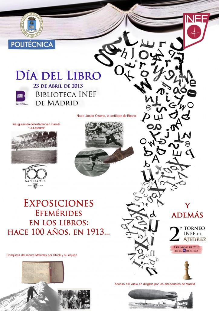 INEF - Cartel día del libro 2013