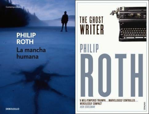 La mancha humana. The ghost Writer. Philip Roth