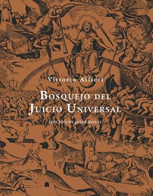 Cubierta de Bosquejo del Juicio Universal, Vittorio Amadeo Alfieri