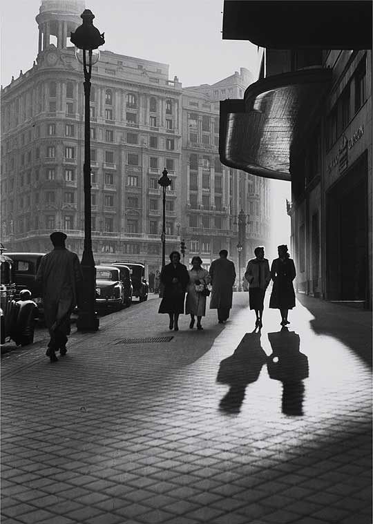 Gran Vía. Madrid. 1953