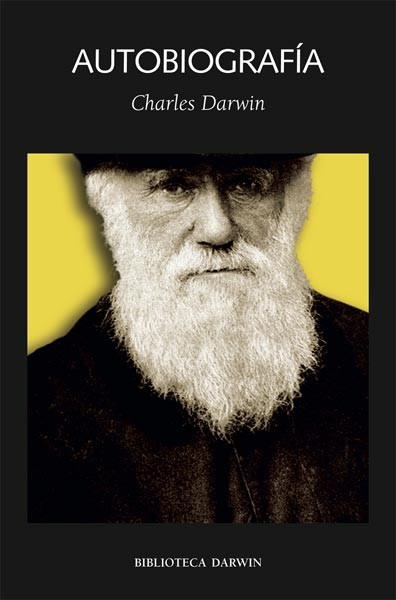 Cubierta de Autobiografia, Charles Darwin