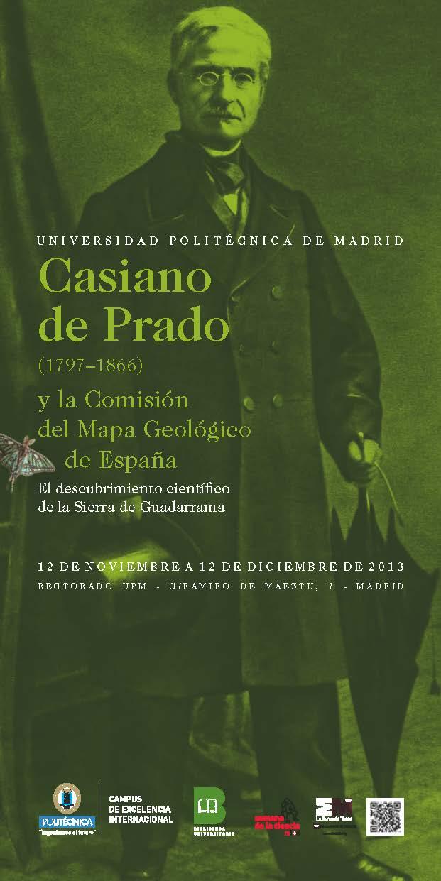 Cartel de la exposición: Casiano de Prado