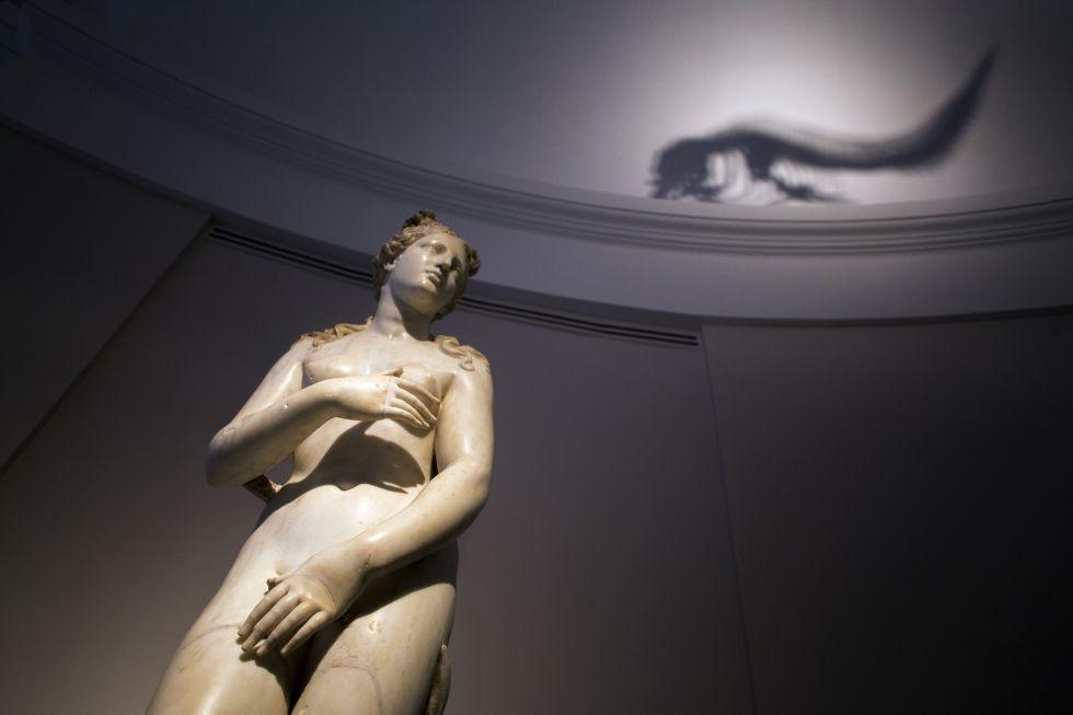 Un leviatán engulle a una Diosa (Sala 74), Taller romano, Venus del delfín