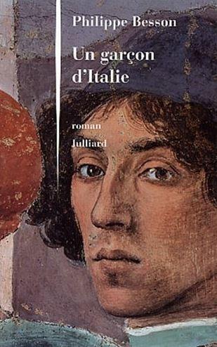 Cubierta de Un garçon d'Italie, Philippe Besson