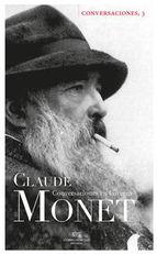 Cubierta de Conversaciones en Giverny con Claude Monet
