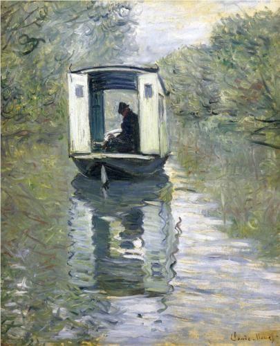 El barco estudio (1876)
