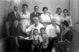Familia Salaberry. 1910. Fuente: memoriademadrid