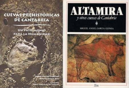 Cubierta de Altamira y otras cuevas de Cantabria. Miguel Ángel García Guinea