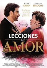 Cartel película: Lecciones de amor (2015). Director: Fred Schepisi