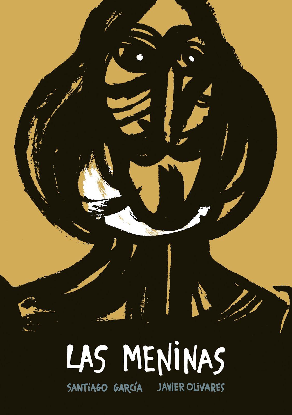 Cubierta de Las Meninas. Guión: Santiago García. Dibujos: Javier Olivares