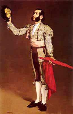 Edouard Manet. Torero saludando.